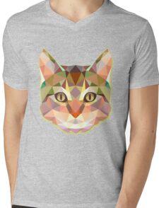Animals Cat Gift Mens V-Neck T-Shirt