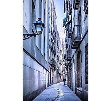 Urban Street Photographic Print