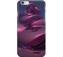 Abstract Metallic Reflections iPhone Case/Skin