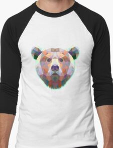 Bear Animals Gift Men's Baseball ¾ T-Shirt
