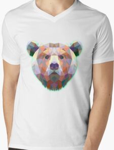 Bear Animals Gift Mens V-Neck T-Shirt