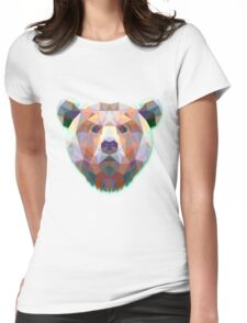 Bear Animals Gift Womens Fitted T-Shirt