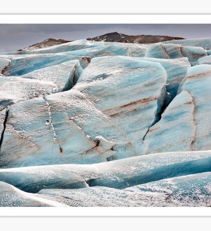 Icebergs, Iceland Sticker