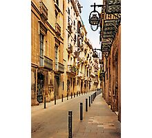 Gothic Quarter Photographic Print