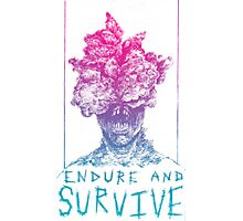 The Last Of Us Clicker Endure and Surive  Photographic Print