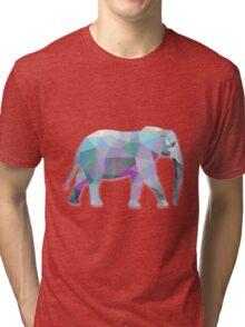 Elephant Animals Gift Tri-blend T-Shirt