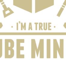 Cube Miner Sticker