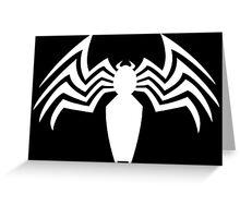 Venom Logo Greeting Card