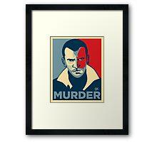 GTA , murder Framed Print