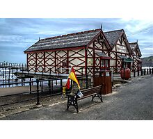Saltburn Amusement Arcade Photographic Print