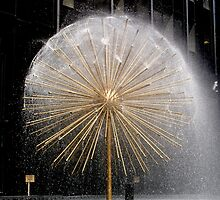 Fountain in Midtown, Manhattan by Koon