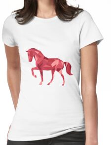 Horse Animals Gift Womens Fitted T-Shirt