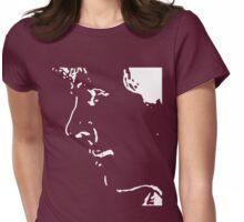 Benedict Cumberbatch, minimalistic (white) Womens Fitted T-Shirt