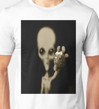 world in my hand Unisex T-Shirt