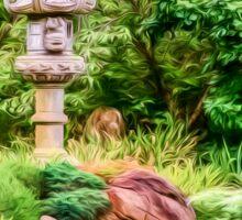 Himeji Garden  (GO3) Sticker