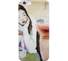coffee takes me away to Kenya iPhone Case/Skin