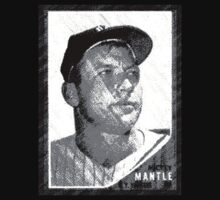 Mickey Mantle by Kickmes0n