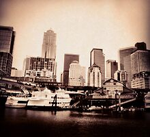 Seattle from Her Ports by BenVess