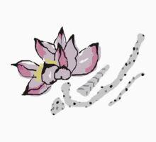 Pink Lotus Kids Tee