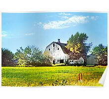 ~ Barn just down the road ~ Poster