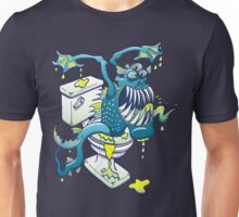 Toilet Monster Unisex T-Shirt