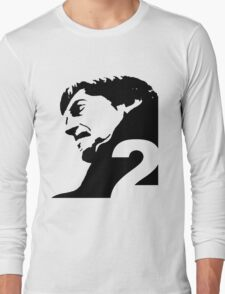 The Second Doctor – Patrick Troughton Long Sleeve T-Shirt