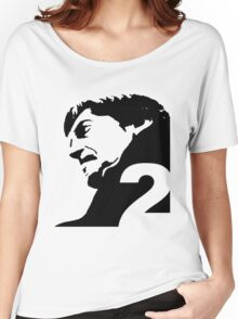 The Second Doctor – Patrick Troughton Women's Relaxed Fit T-Shirt
