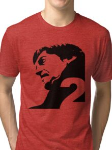 The Second Doctor – Patrick Troughton Tri-blend T-Shirt