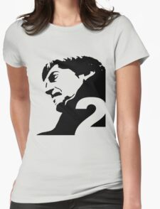 The Second Doctor – Patrick Troughton Womens Fitted T-Shirt