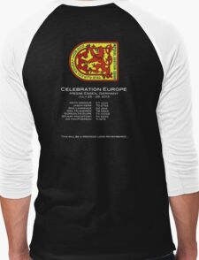 Celebration Europe Gear Men's Baseball ¾ T-Shirt