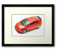 Model car Framed Print