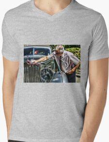 Classic car Mens V-Neck T-Shirt