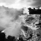 Volcano in Azores by Gaspar Avila