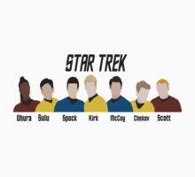 Minimalistic Star Trek Crew T-Shirt