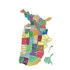 Usa map by likefeathers
