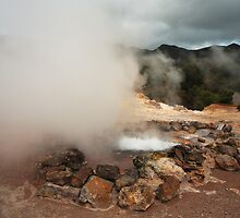 Volcano in Azores islands by Gaspar Avila