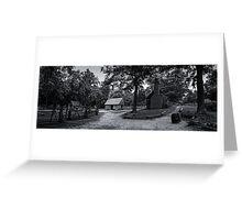 Colonial Virginia Farmstead Greeting Card