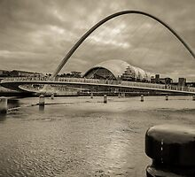 Millennium Bridge by Sergey Simanovsky