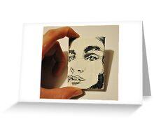 Miniature Portrait  Greeting Card