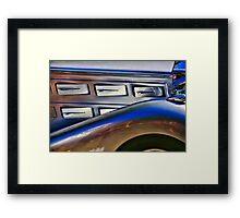 Classic car Framed Print