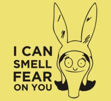 I Smell Fear On You - Louise Bob's Burgers by lindseyyo