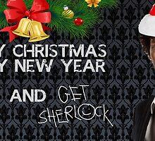 Sherlock Christmas by tigerdimension