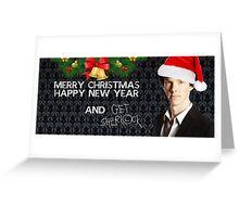 Sherlock Christmas Greeting Card