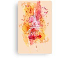 Paris Eiffel  Canvas Print