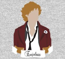 Enjolras (Aaron Tveit)- Les Miserables by 221bCastiel