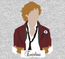 Enjolras (Aaron Tveit)- Les Miserables by 221bCastiel