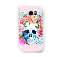 Skull flower art Samsung Galaxy Case/Skin