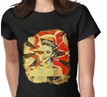 Audrey Explosion Womens Fitted T-Shirt