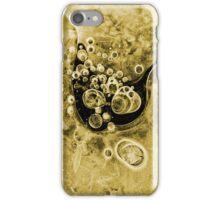 Icebubble 2 gold iPhone Case/Skin