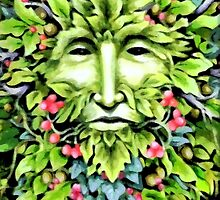 The green man. by BungleThreads